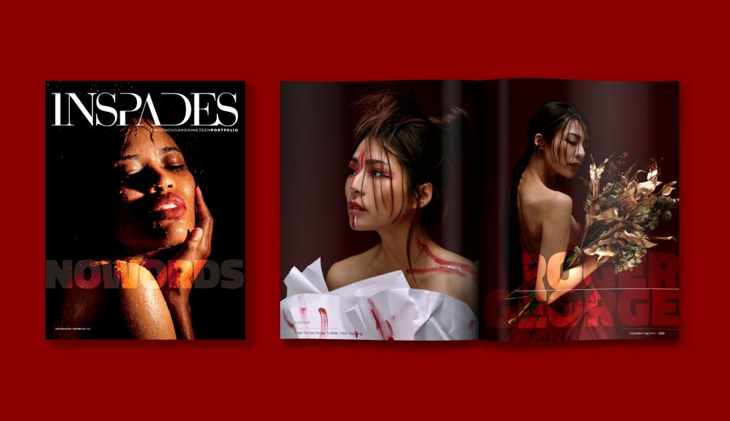 INSPADES Magazine layout - www.inspadesmag.com