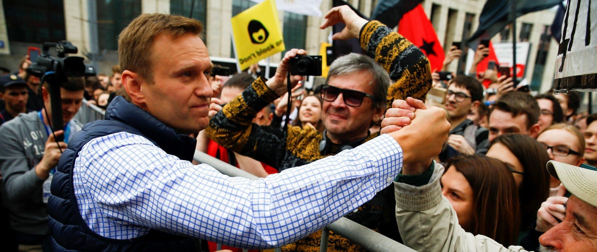 Aleksei Navalny © Anadolu Agency - Amnesty International
