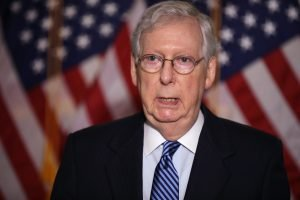 Senate Majority Leader Mitch McConnell Chip Somodevilla Getty Images