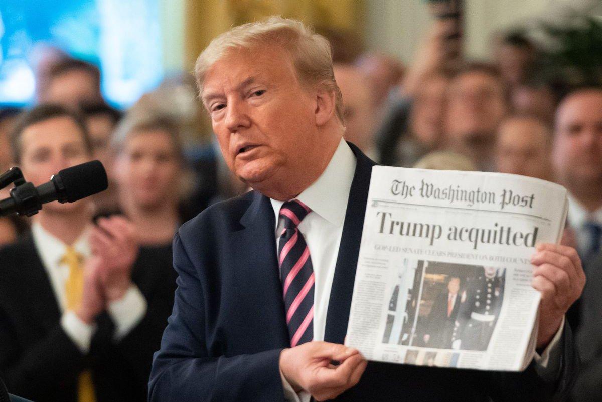 Trump impeachment ©Saul Loeb - AFP via Getty Images
