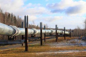 Alaska oil pipeline