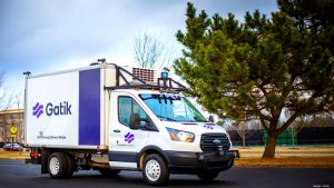 Silicon Valley self-driving startup Gatik works with Isuzu to build delivery trucks