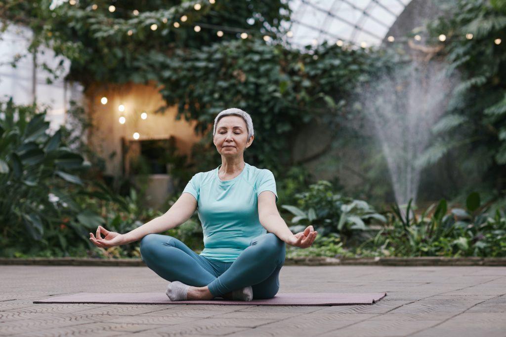 Photo by Marcus Aurelius from Pexels meditation