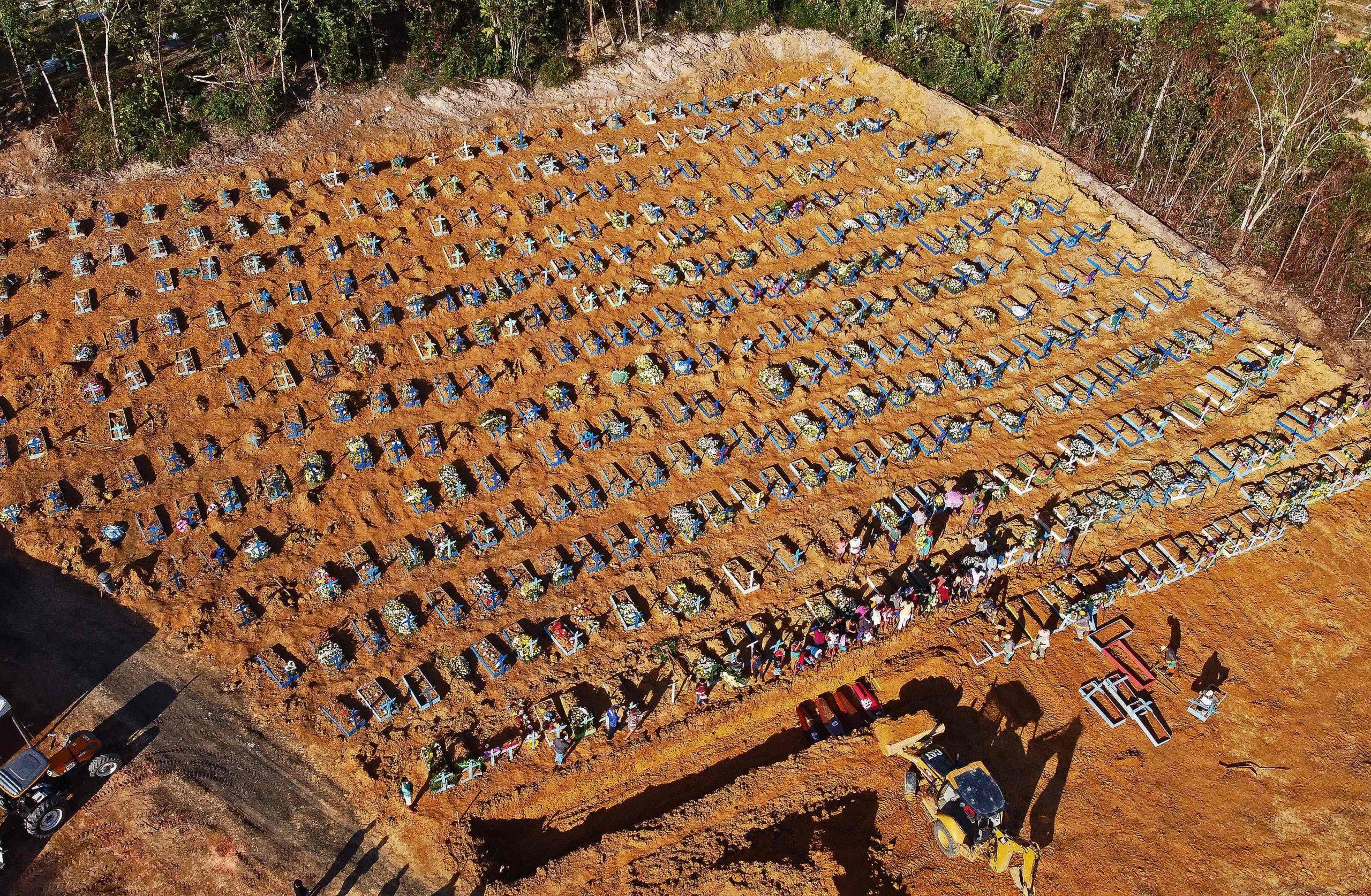 Mass graves Covid-19