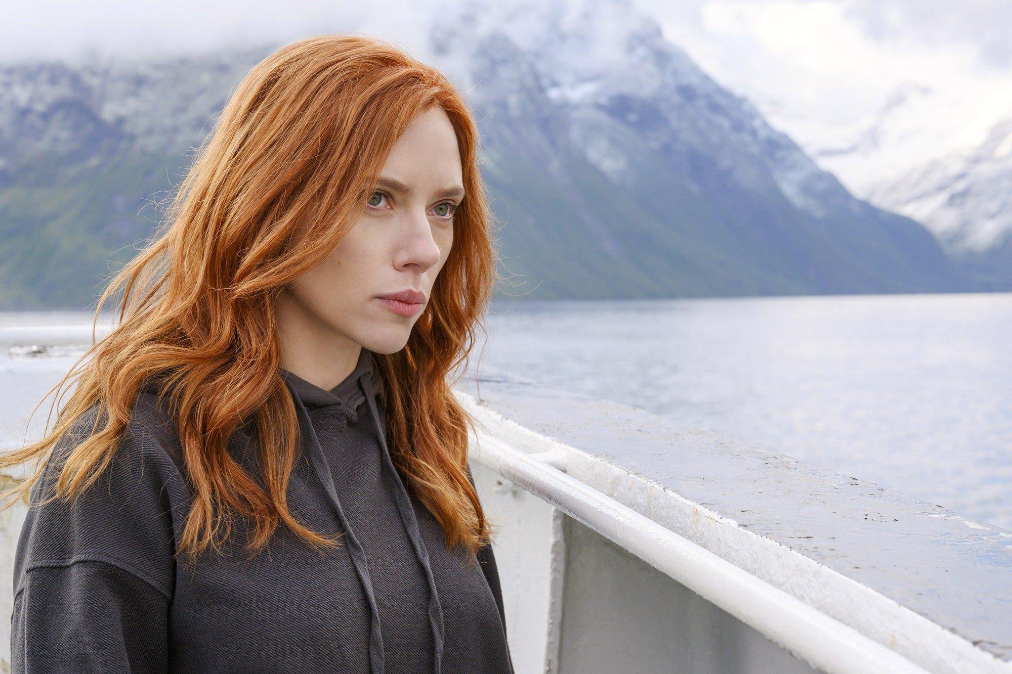 Black Widow Scarlett Johansson ©WALT DISNEY CO./EVERETT COLLECTION. Marvel Universe. Natasha Romanoff.